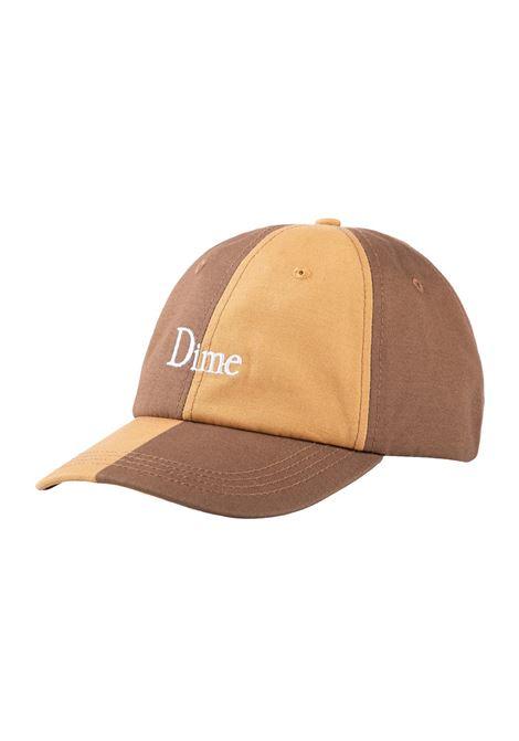 Cappello con logo marrone unisex cotone DIME | Cappelli | DIME5001TAN