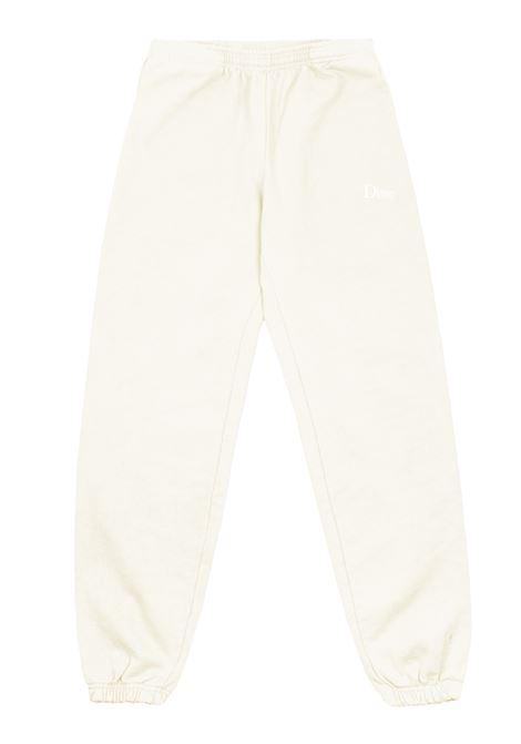 Pantaloni con logo crema uomo Cotone DIME | Pantaloni | DIME5006CRE