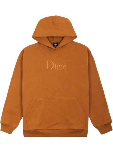 Logo sweatshirt brown man Cotton DIME | Sweatshirts | DIME5007COF