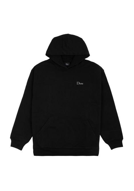 Logo sweatshirt man black DIME | Sweatshirts | DIME5009BLK