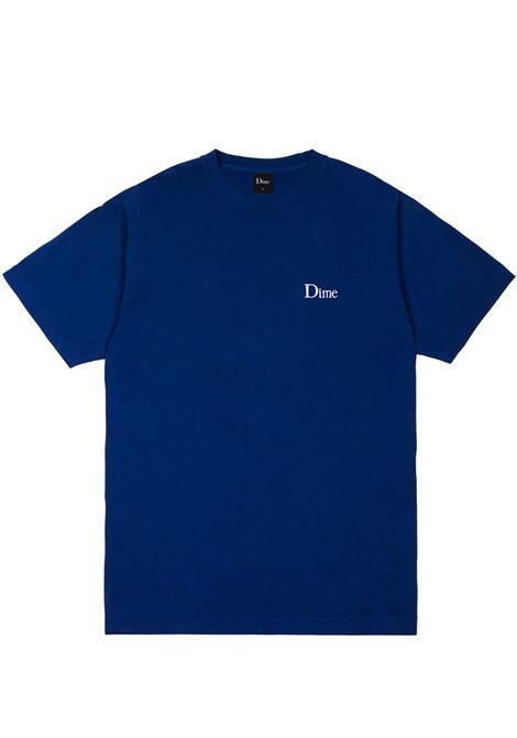 Logo t-shirt navy man Cotton DIME | T-shirts | DIME5018NVY