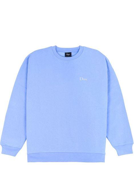 Logo sweatshirt blu man Cotton DIME | Sweatshirts | DIME5036CABL
