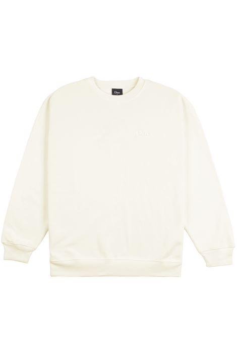 Logo sweatshirt cream man Cotton DIME | Sweatshirts | DIME5036CRE