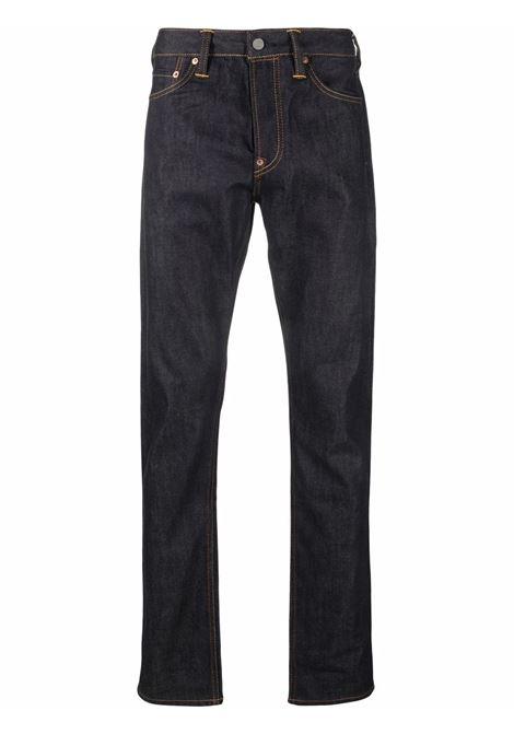 jeans con risvolto uomo blu in cotone EVISU | Jeans | 2EABSM1JE21217INDX