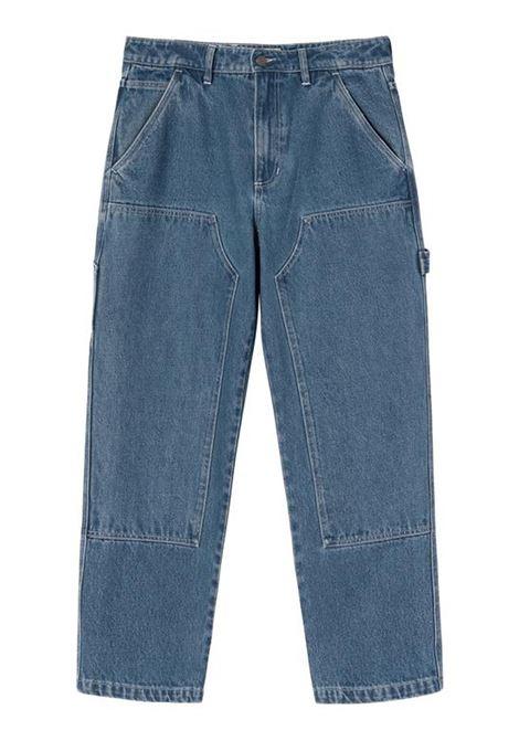 pantaloni denim work uomo blu STUSSY | Jeans | 116482SBLUE