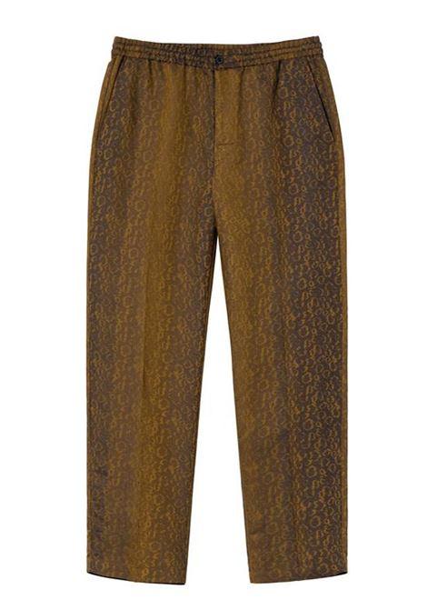leopard jacquard bryan pant STUSSY | Trousers | 116489LEOPARD