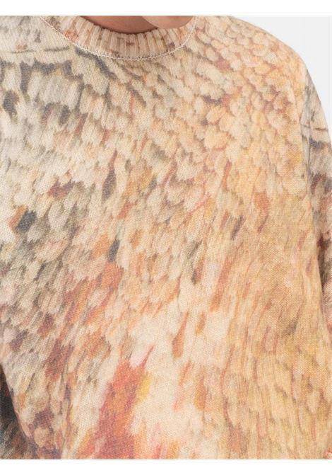 felpa wings print uomo multicolore in cotone STUSSY | Maglieria | 117098MULTI