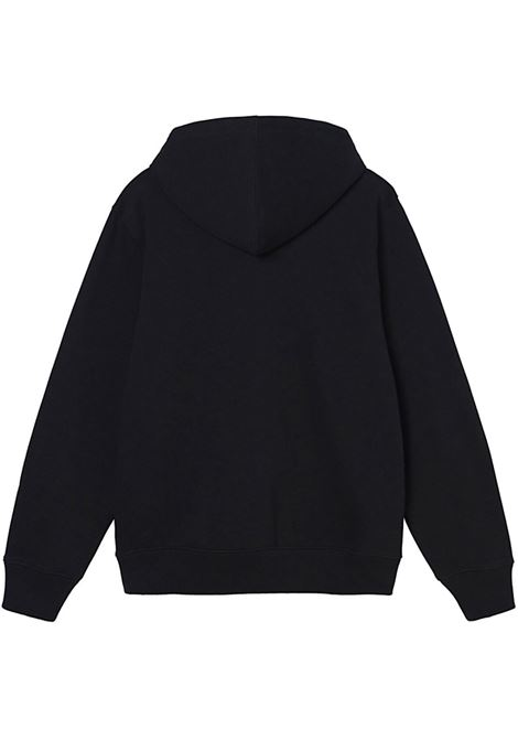 eflpa wear app uomo nera in cotone STUSSY | Felpe | 118446BLACK