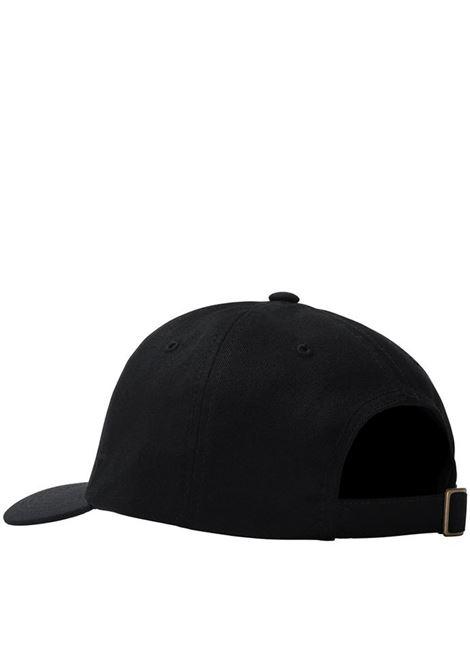 cappello stock low unisex nero in cotone STUSSY   Cappelli   131982BLACK