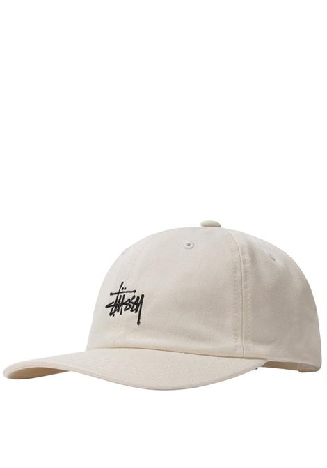 stock low cap unisex natural in cotton STUSSY | Hats | 131982NATURAL