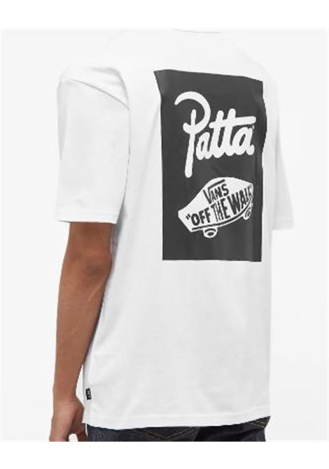 t-shirt con stampa uomo bianca in cotone VANS VAULT   T-shirt   VN0A7SO7WHT1