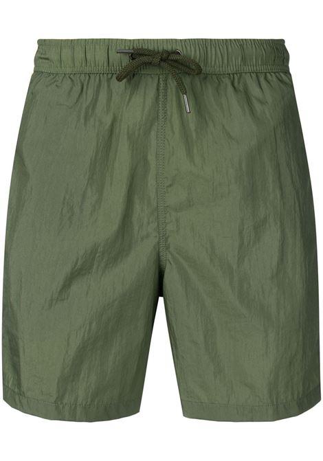 Aspesi paneled swimsuit man green ASPESI | Swimwear | AH01 G05201169