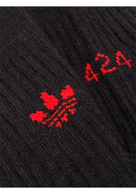 Adidas x 424 socks with logo man Adidas x 424 | Socks | FS6271BLACK / RED