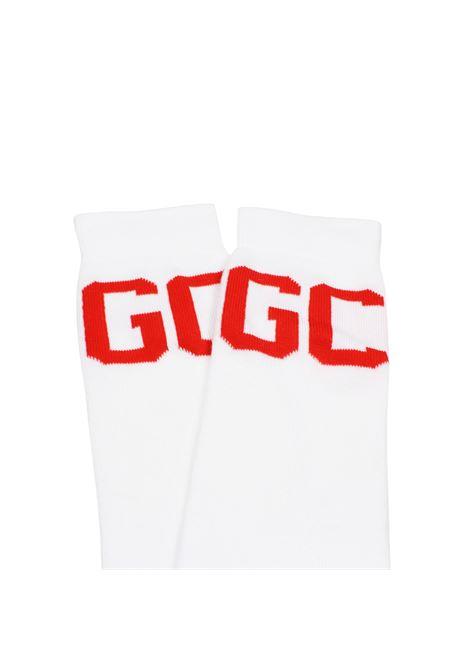 Calzini con logo bianchi uomo cotone GCDS | Calzini | CC94U01012901