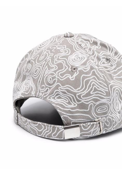 Logo hat gray man cotton 032c | Hats | SS21-A-0030GREY PURPLE