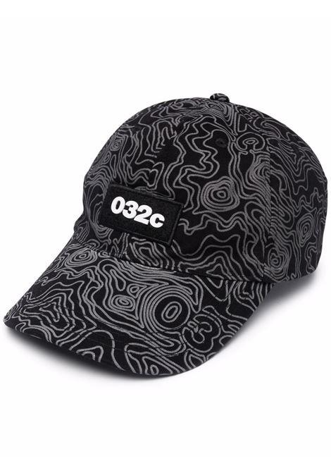 Logo hat black man cotton 032c | Hats | SS21-A-0032BLACK