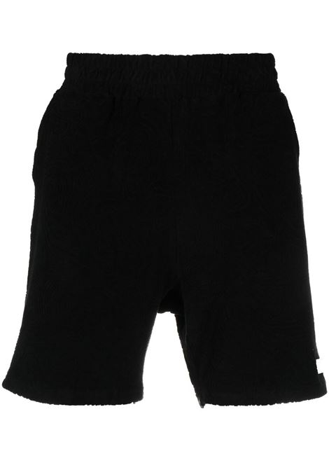 032c patch logo shorts man black 032c | Shorts | SS21-C-3010BLACK