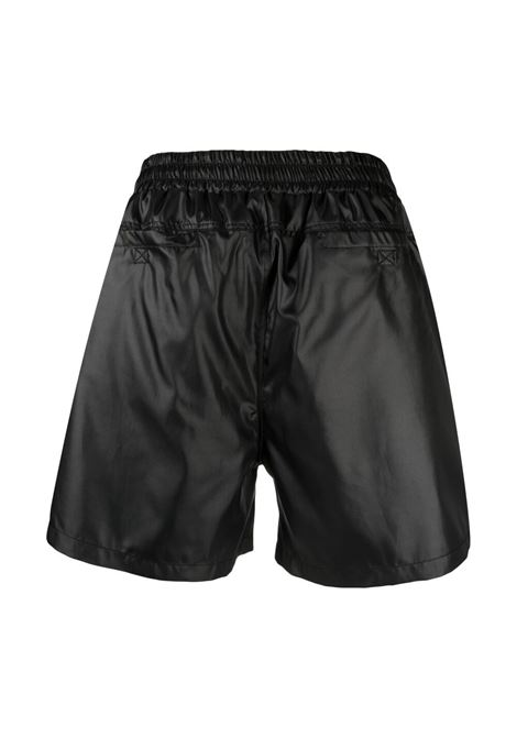 032c logo embroidered shorts man black 032c | Shorts | SS21-W-2030BLACK