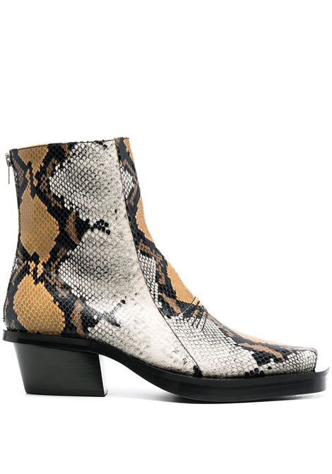 PYTHON ANKLE BOOTS 1017 ALYX 9SM | Boots | AAMBO0051LE03MTY0001