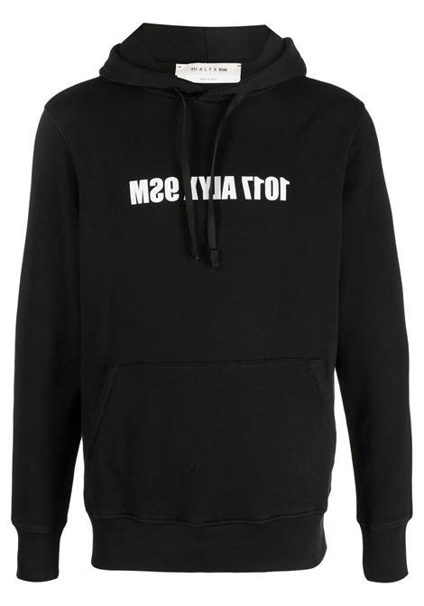 1017 Alyx 9Sm felpa con logo uomo 1017 ALYX 9SM | Felpe | AAMSW0097FA01BLK0001