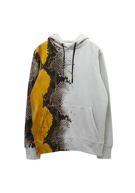 Snakeskin print sweatshirt man white 1017 ALYX 9SM | Sweatshirts | AAMSW0098FA01MTY0001