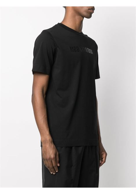STUDDED MIRRORED LOGO TEE 1017 ALYX 9SM | T-shirts | AAMTS0204FA01BLK00001