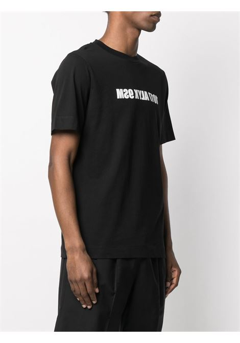 MIRROR LOGO T-SHIRT 1017 ALYX 9SM | T-shirts | AAMTS0220FA01BLK0001