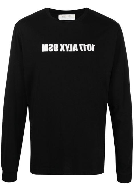 1017 Alyx 9sm t-shirt con logo uomo nero 1017 ALYX 9SM | T-shirt | AAMTS0221FA01BLK0001