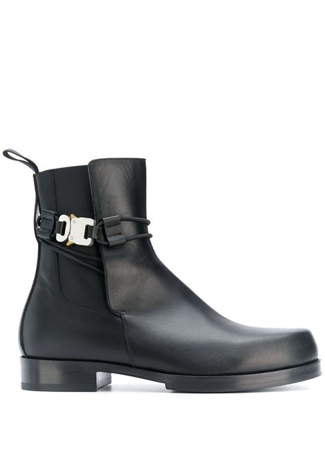1017 Alyx 9Sm leather ankle boots unisex black 1017 ALYX 9SM | Boots | AAUBO0038LE01BLK001