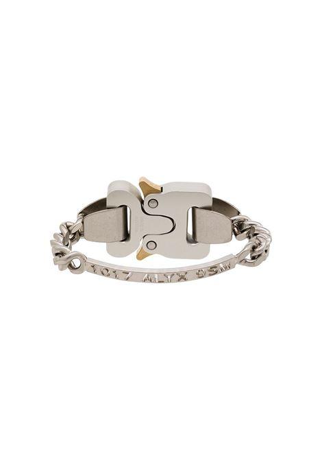 1017 Alyx 9Sm bracciale con cinturino uomo argento 1017 ALYX 9SM | Gioielli | AAUJW0034OT01GRY0002