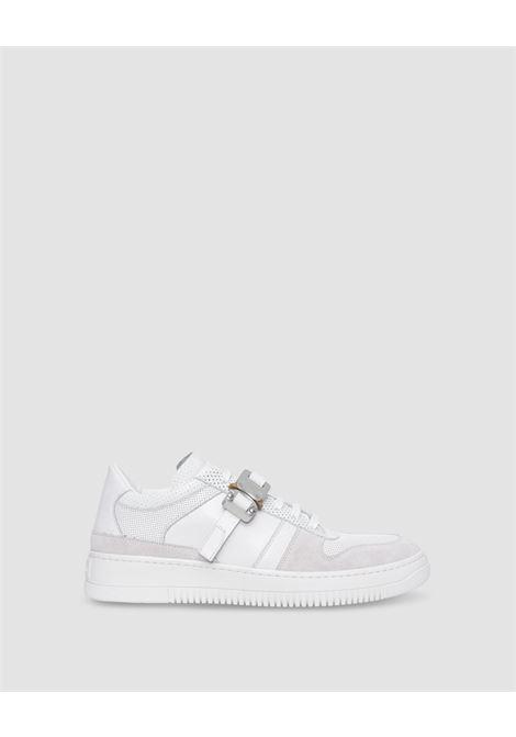 1017 Alyx 9sm buckle sneakers man white 1017 ALYX 9SM | Sneakers | AAUSN0022LE02WTH0001