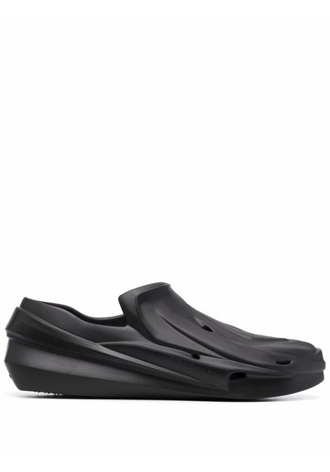 1017 Alyx slip on chunky loafers man black 1017 ALYX 9SM | Sandals | AAUSN0025OT01BLK0001