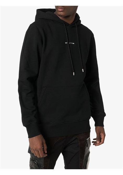 HOODED SWEATSHIRT VISUAL 1017 ALYX 9SM | Sweatshirts | AVUSW0009FA01BLK00