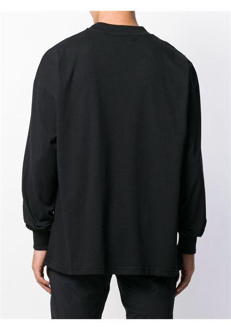 1017 Alyx 9Sm t-shirt a manica lunga con logo unisex 1017 ALYX 9SM | T-shirt | AVUTS0020FA01BLK001