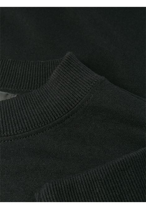 1017 Alyx 9sm felpa girocollo con logo unisex nero 1017 ALYX 9SM | Felpe | AVUTS0020FA01BLK001