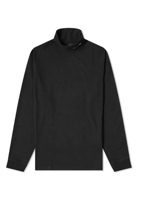 1017 Alyx 9Sm t-shirt manica lunga a collo alto unisex 1017 ALYX 9SM | T-shirt | AVUTS0021FA01BLK0001