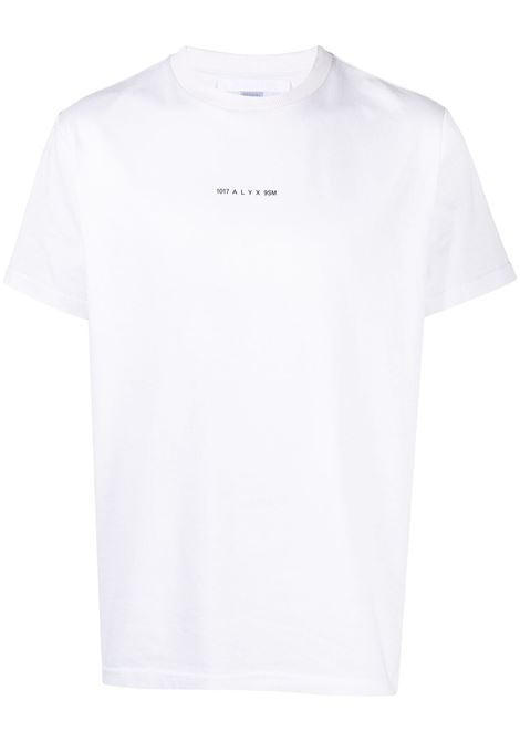 1017 Alyx 9sm t-shirt logo uomo bianco 1017 ALYX 9SM | T-shirt | AVUTS0216FA01WTH001