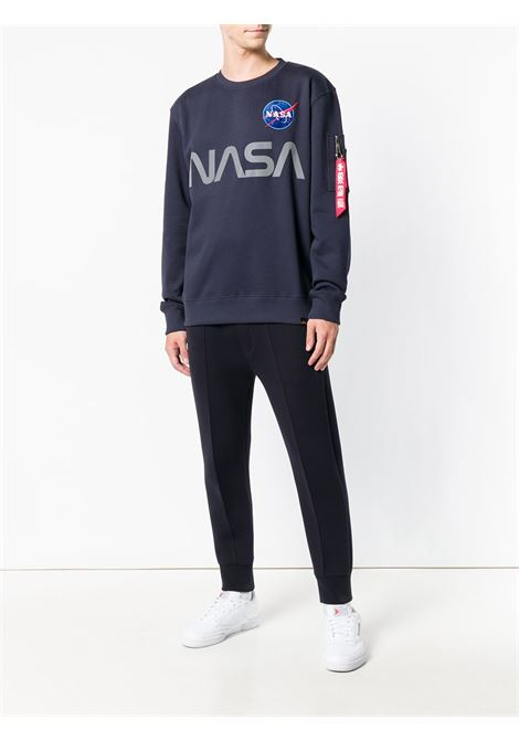 Alpha Industries felpa nasa reflective uomo ALPHA INDUSTRIES | Felpe | 17830907