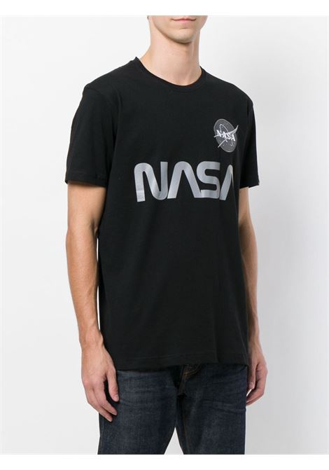 NASA REFLECTIVE T-SHIRT ALPHA INDUSTRIES | T-shirts | 17850103