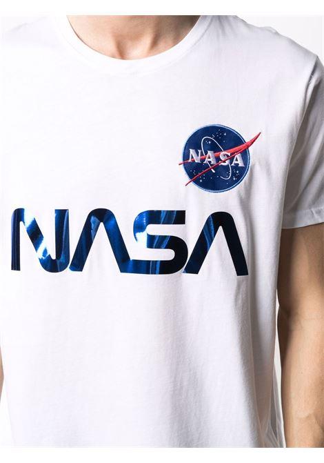 NASA REFLECTIVE T-SHIRT ALPHA INDUSTRIES   T-shirts   17850190
