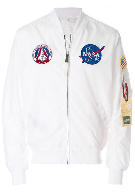 Alpha Industries reversible bomber man white ALPHA INDUSTRIES | Jackets | 18610109