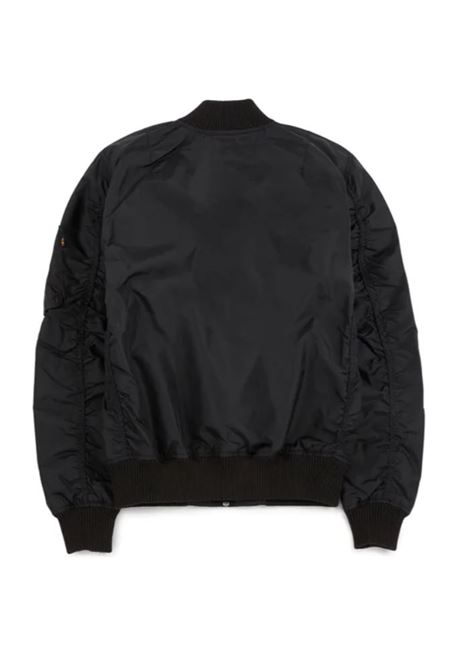 Alpha Industries bomber con zip uomo ALPHA INDUSTRIES | Giacche | 19110303