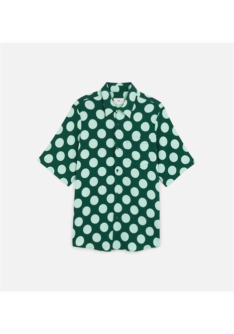 Ami - Alexandre Mattiussi camicia a pois uomo AMI - ALEXANDRE MATTIUSSI | Camicie | E21HC259.294310