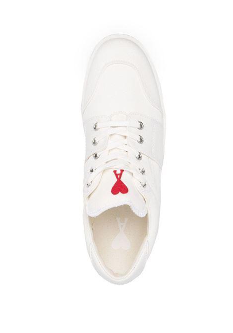 Ami Alexandre Mattiussi sneakers bassa uomo bianco AMI - ALEXANDRE MATTIUSSI | Sneakers | E21S400.962100