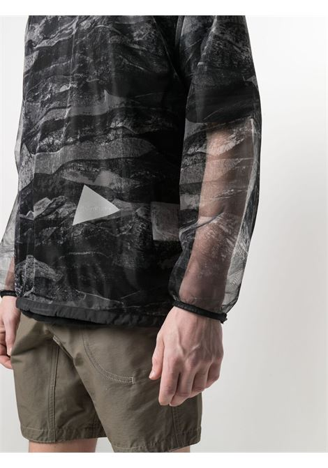 And Wander t-shirt con stampa grafica man multicolore AND WANDER | T-shirt | 5741181115010