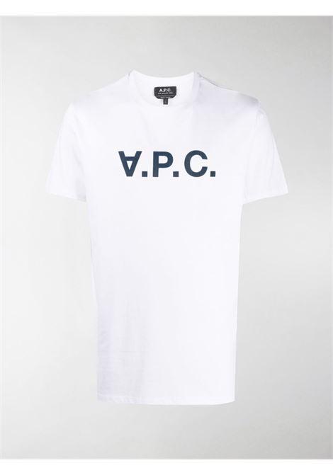 A.P.C. t-shirt con logo uomo A.P.C. | T-shirt | COBQX-H26586IAK