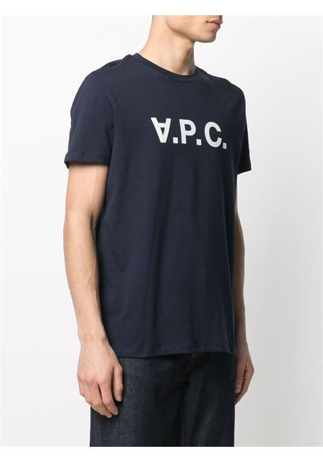 A.P.C. t-shirt con logo uomo A.P.C. | T-shirt | COBQX-H26943IAK