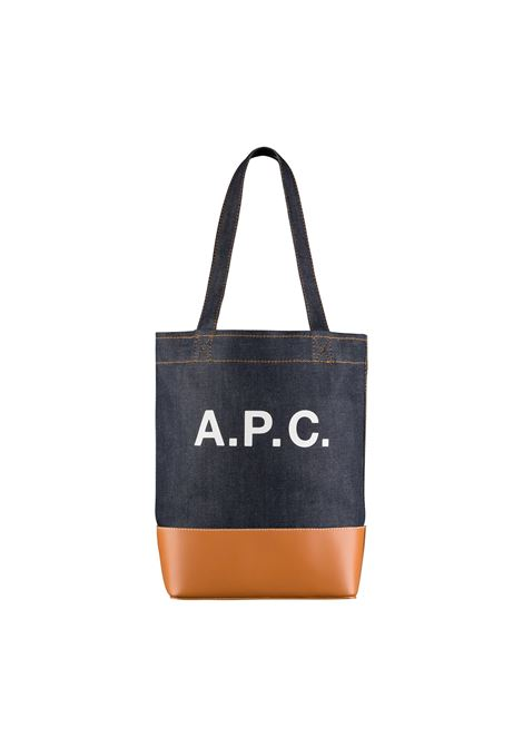 A.P.C. shopper in denim uomo A.P.C. | Borse | CODDP-M61444CAF