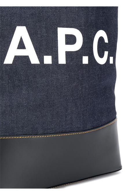 A.P.C. shopper in denim uomo A.P.C.   Borse   CODDP-M61444IAK