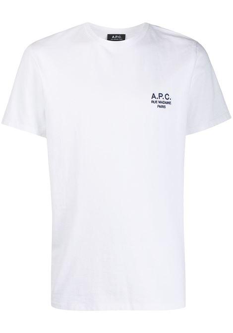 A.P.C. t-shirt con ricamo uomo A.P.C. | T-shirt | COEAV-H26840AAB